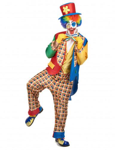 Chester - Clownkläder för vuxna