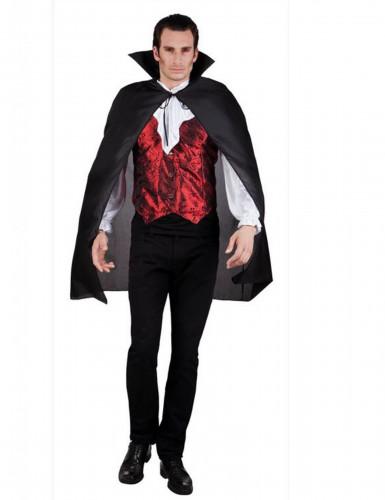 Vampyrmantel - Halloweentillbehör för vuxna