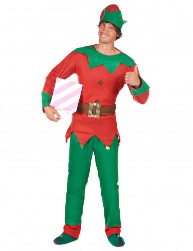 Julalvsdräkt för vuxna - tomtens medhjälpare