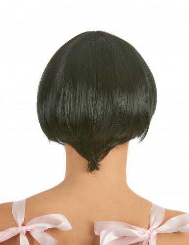 Svart peruk i charleston-stil-1