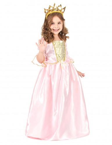 Rosa prinsessa - utklädnad barn