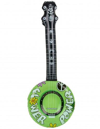 Uppblåsbar banjo hippie