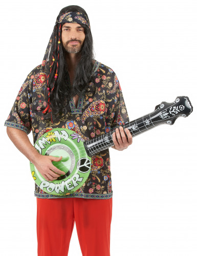 Uppblåsbar banjo hippie-3