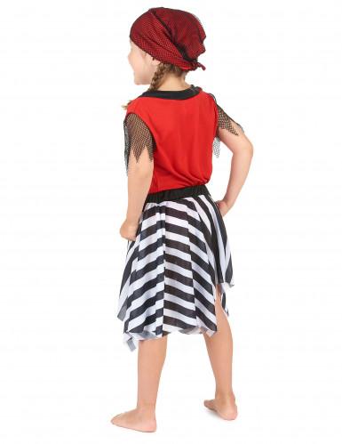 Pirat med randig kjol - Maskeradkläder för barn-2