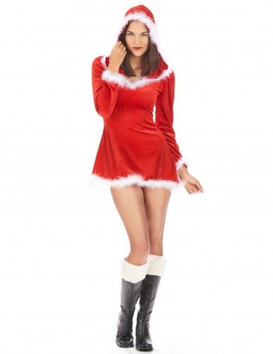 Söt tomteklänning för vuxna - Juldräkt