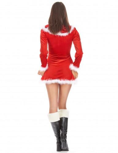 Söt tomteklänning för vuxna - Juldräkt-2
