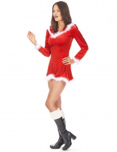 Söt tomteklänning för vuxna - Juldräkt-1