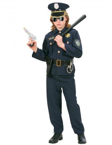 Polisdräkt för barn till temafesten-2