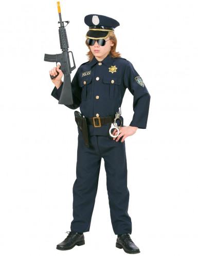 Polisdräkt för barn till temafesten-1