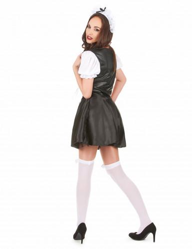 French maid maskeraddräkt för vuxna-2