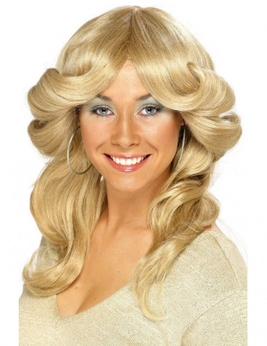 Blondin från 70-talet - Peruk för vuxna