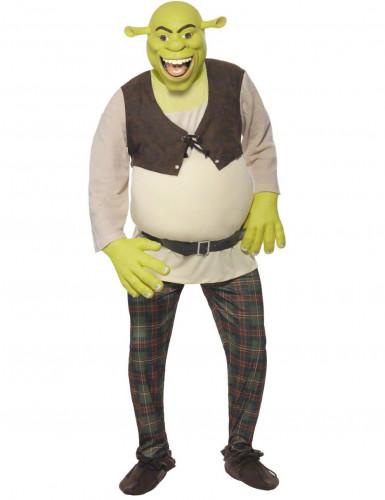 Maskeraddräkt Shrek™ vuxen
