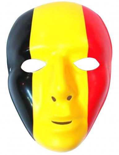 Belgisk supporter mask