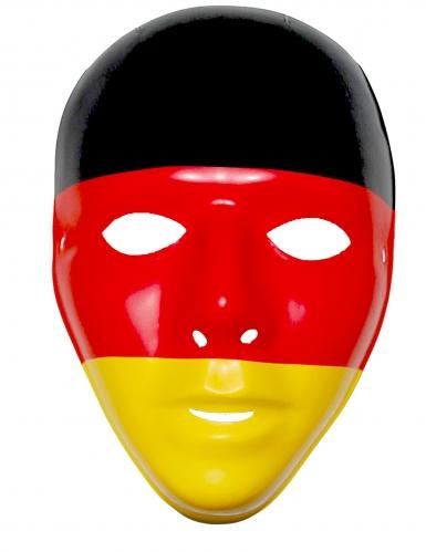Tysk supportermask till matchen