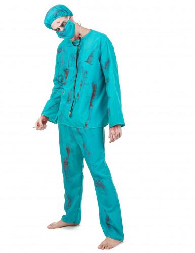 Zombiekirurg - utklädnad vuxen Halloween-1