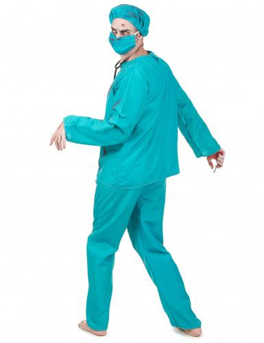 Zombiekirurg - utklädnad vuxen Halloween-2