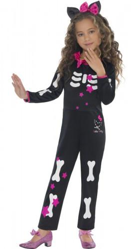 Hello Kitty™ skelettdräkt barn