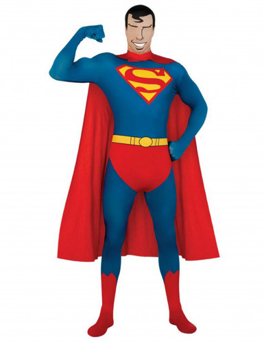Maskeraddräkt Second Skin Superman™ vuxen