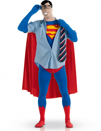 Maskeraddräkt Second Skin Superman™ vuxen-1