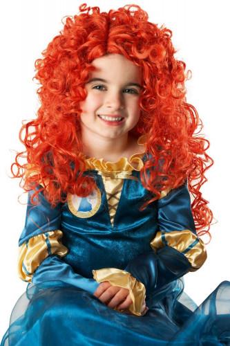 Peruk princessan Merida™ barn