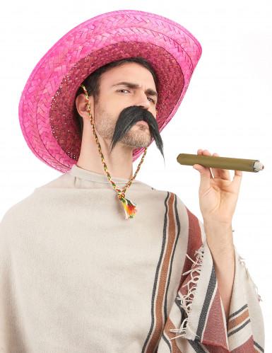 Rosa mexikansk sombrero för vuxna-1