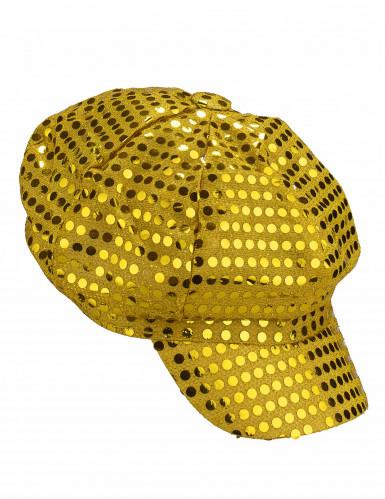 Guldfärgad discokeps vuxna-1