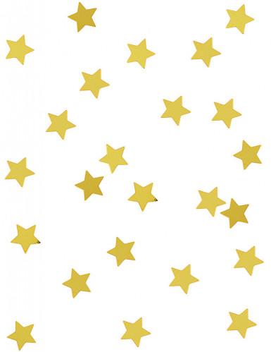 Gyllene stjärnor - Konfetti till jul