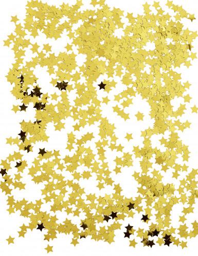 Gyllene stjärnor - Konfetti till jul-1