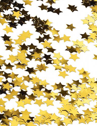 Gyllene stjärnor - Konfetti till jul-2