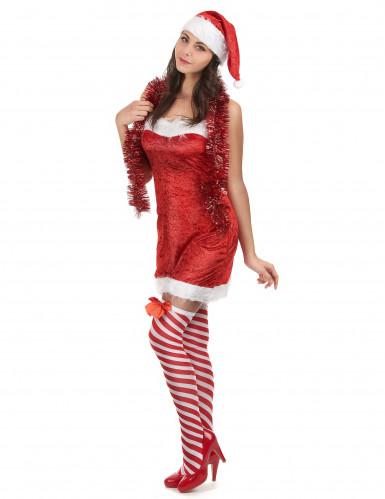 Charmig tomtedräkt - Juldräkt för vuxna-1