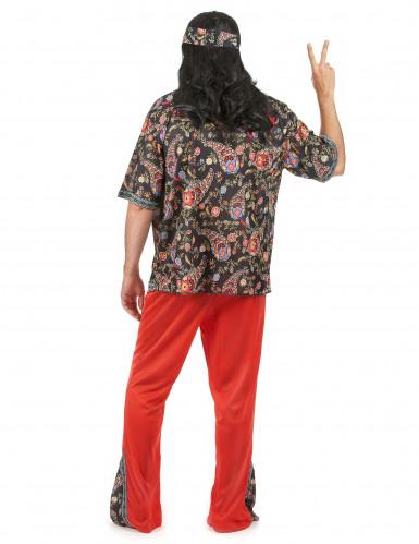 Peaceloving Pete - Hippiedräkt för vuxna till maskeraden-2