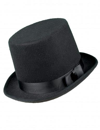 Hög hatt svart vuxen-1