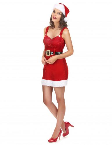 Sexiga tomtemor med sitt bälte - Juldräkt för vuxna-1