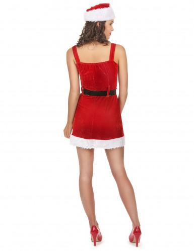 Sexiga tomtemor med sitt bälte - Juldräkt för vuxna-2