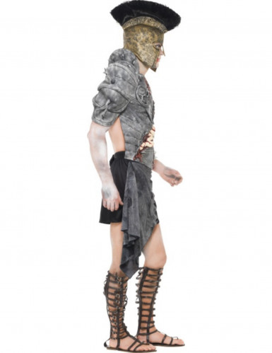 Maskeraddräkt zombiegladiator vuxen Halloween-2