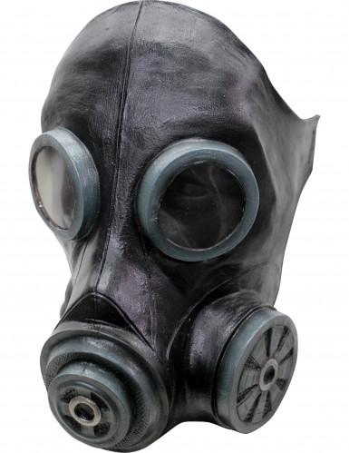 Grön gasmask vuxen