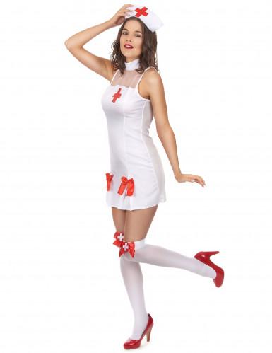 Sjuksköterska Maskeraddräkt-1