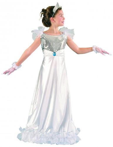 Vit isprinsessdräkt - Maskeradkläder för barn
