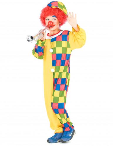 Chuckles - Clowndräktkläder i barnstorlek-1