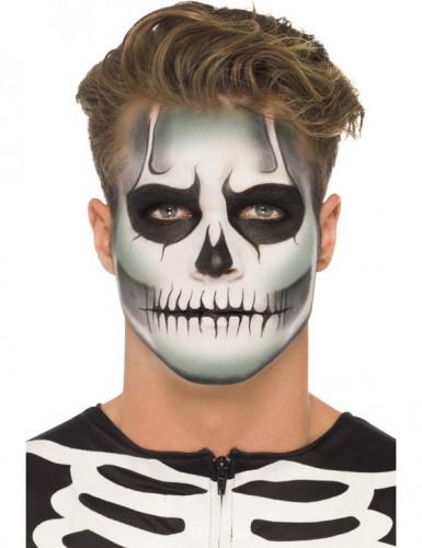 Halloween Sminkek.Sjalvlysande Skelettsmink Set Halloween Vuxen