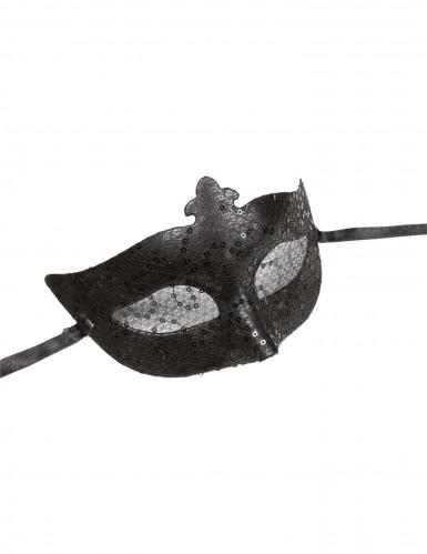 Svart maskeradmask vuxen