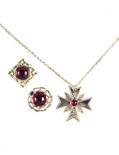 Vampyr smyckesset vuxen Halloween