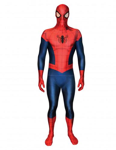 Lyxiga Spiderman - Morphsuitsdräkt för vuxen