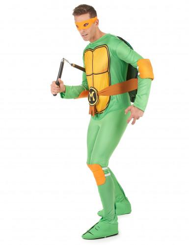 Ninja™ Turtles dräkt Michelangelo vuxen-1