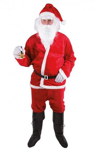 Burrig jultomtedräkt för vuxna
