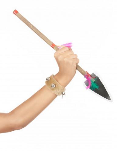 Indianspjut i plast - Accessoarer till maskeraden-1