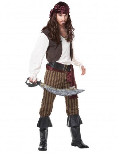 Fuskande Fredo - Piratkläder för vuxna