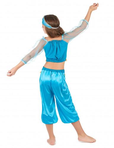 Blå danserska  från tusen och en natt - Maskeraddräkt för barn-2