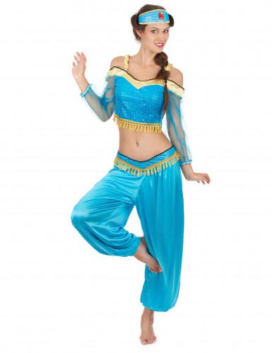 Orientalisk dansös-dräkt för vuxna