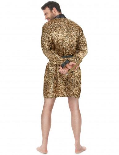 Leopard morgonrock vuxen-2